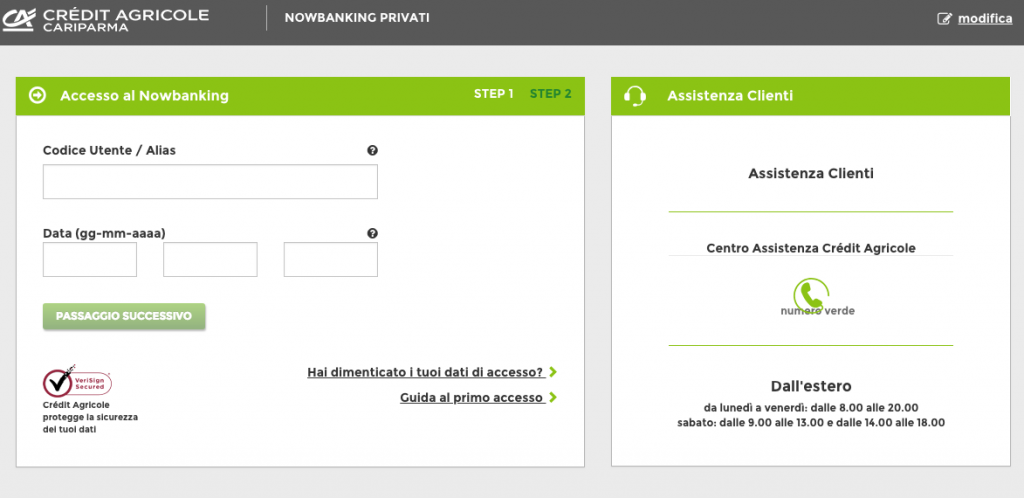 app cariparma nowbanking
