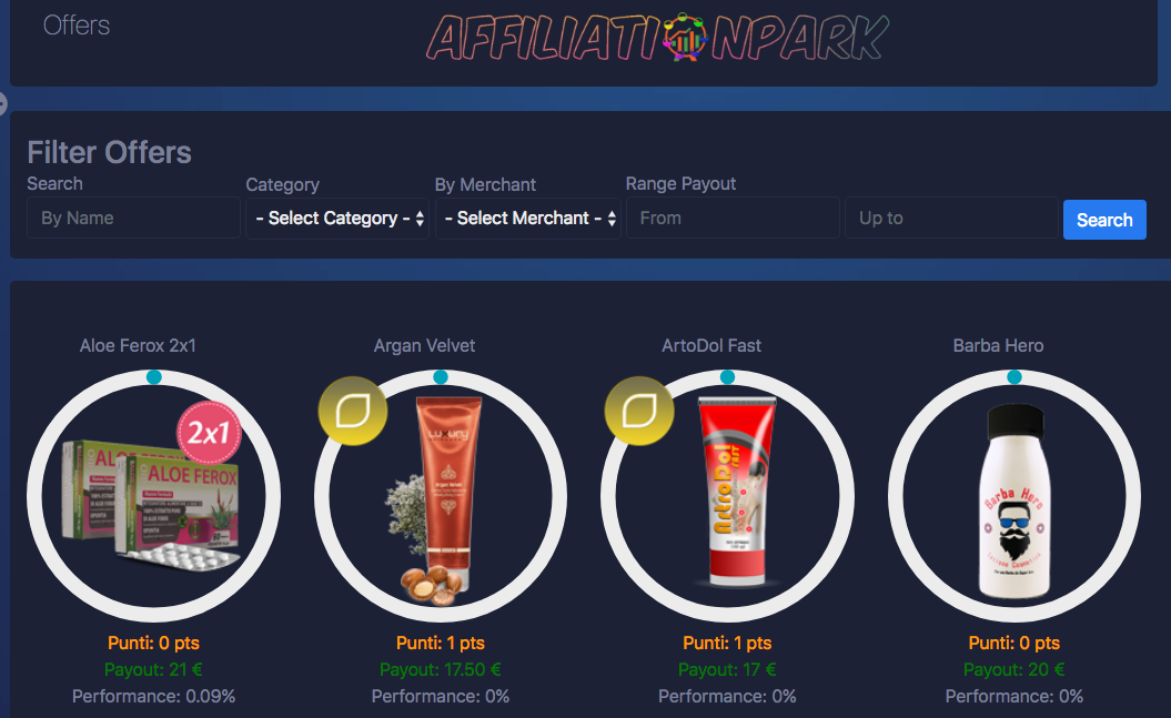 Affiliationpark