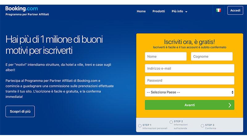 Booking.com Affiliazione