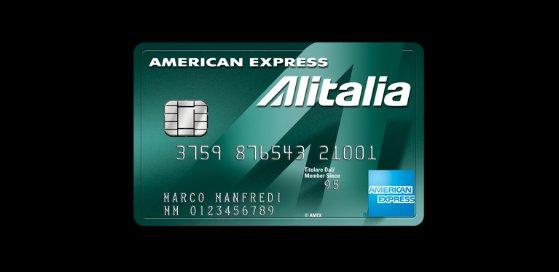 american express alitalia verde